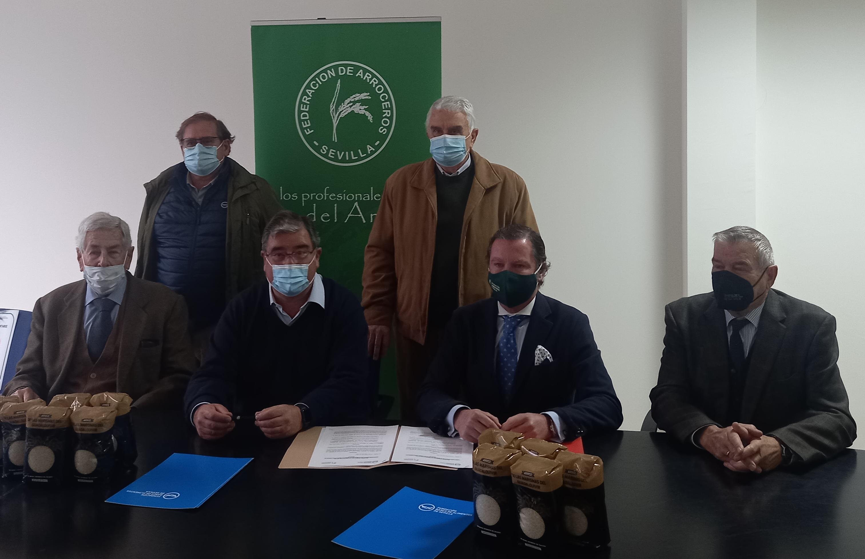 Andalucía Información.es: Los arroceros de Sevilla donarán 4000 kilos de arroz al mes al banco de alimentos.