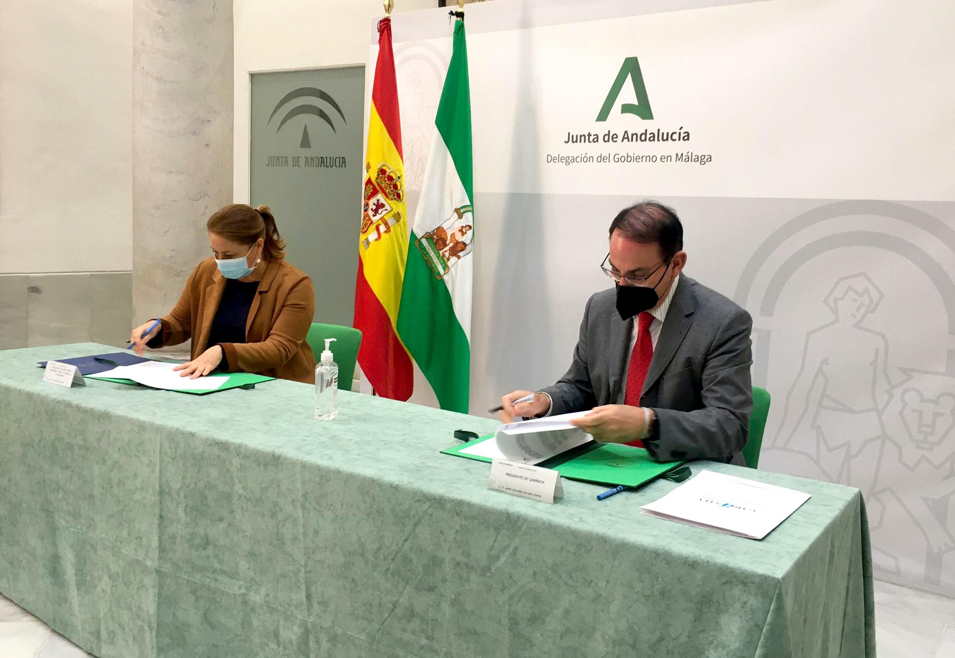 El acuerdo entre Junta y Garántia hace más fácil recibir anticipos de fondos FEADER