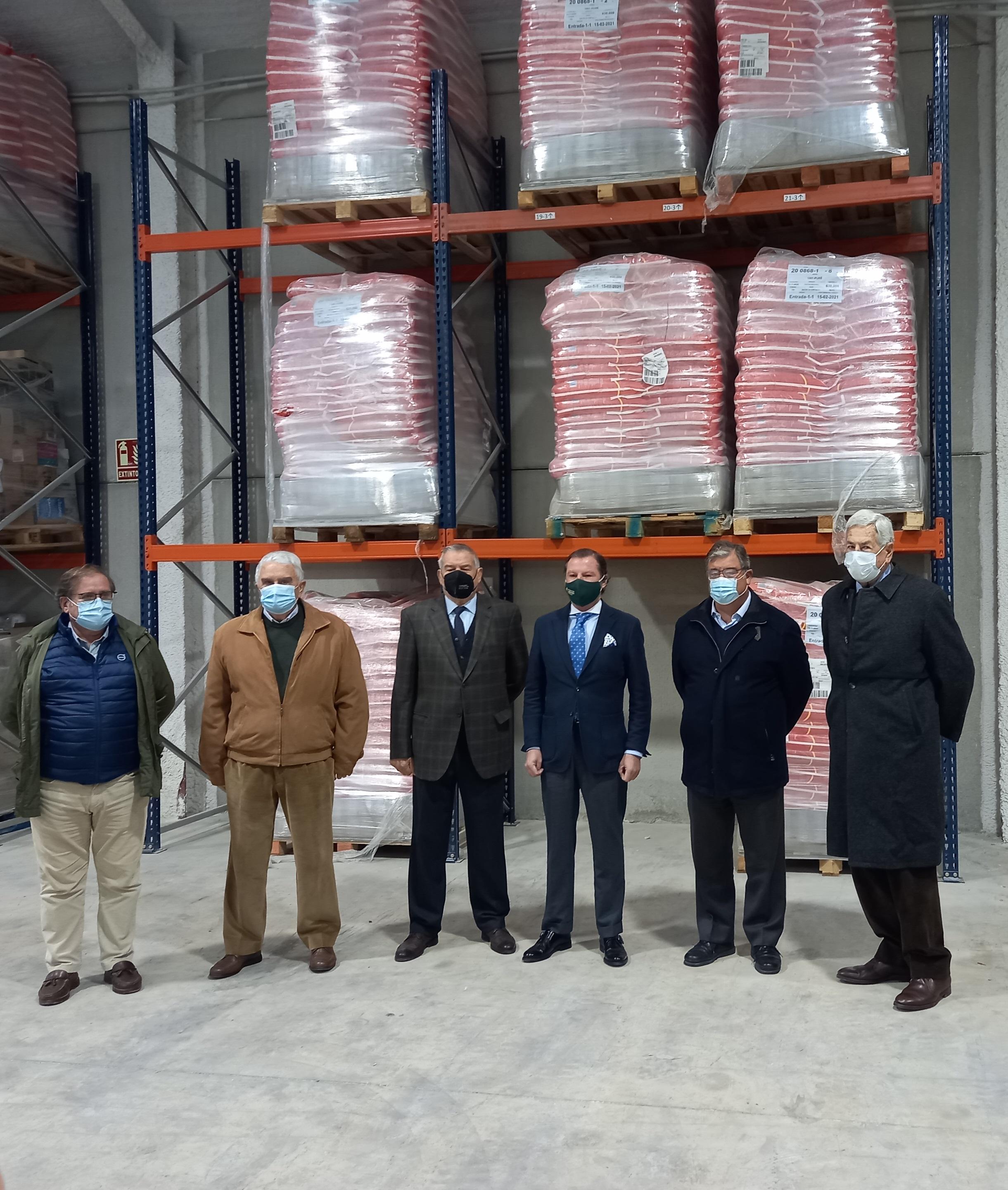 ABC Sevilla: Los arroceros sevillanos donarán mensualmente 4000 kilos de arroz durante un año al banco de alimentos de Sevilla