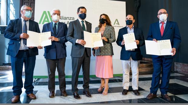 ANDALUCÍA RECLAMA «Una PAC fuerte y solidaria que no lesiones los intereses del campo andaluz»