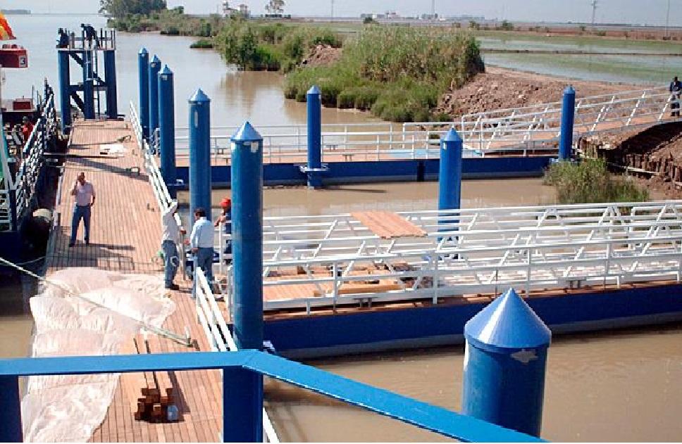 Está previsto para otoño, que la «barcaza» del Bajo Guadalquivir  vuelva a funcionar